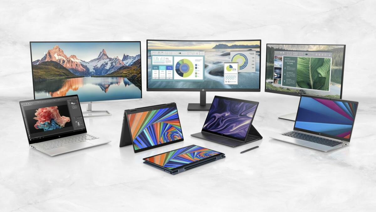 La nouvelle gamme de machines HP au CES 2021