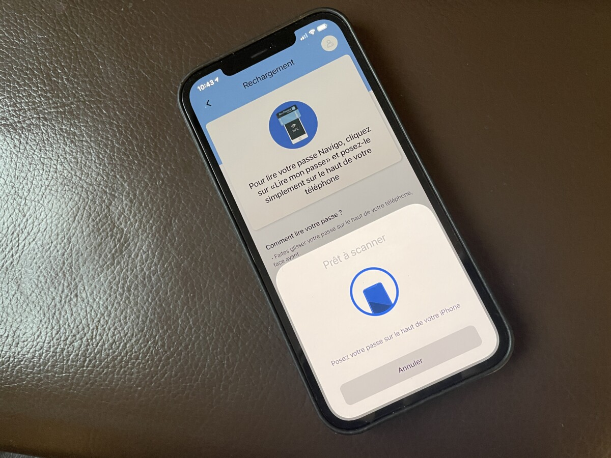You can now top up your Navigo pass with your iPhone