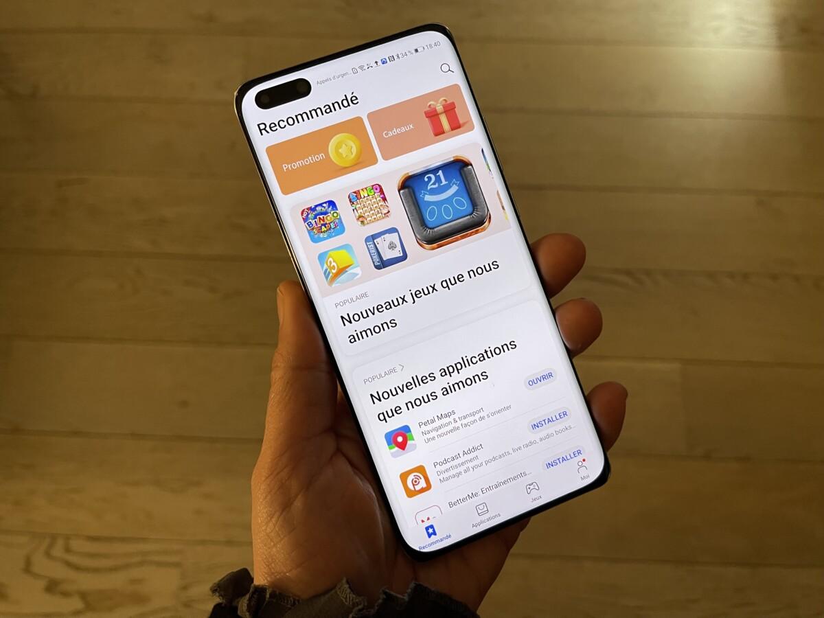 La nouvelle AppGallery de Huawei