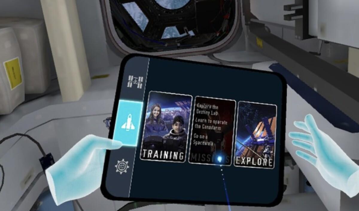 L'expérience Mission: ISS sur l'Oculus Quest Z