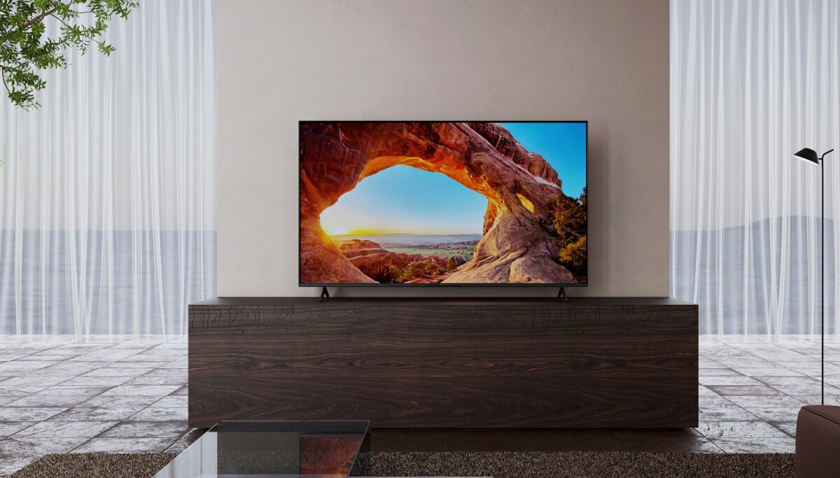 The new Sony Bravia X85J television