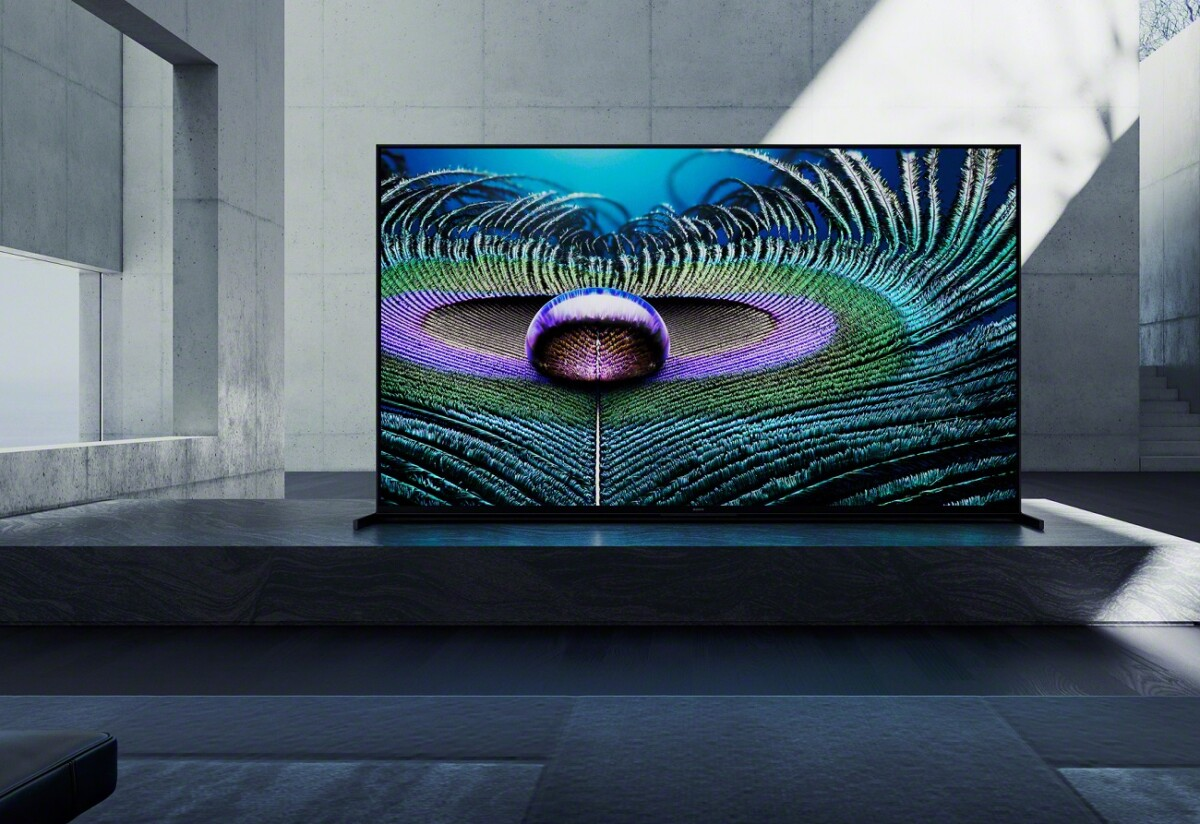The new Sony Bravia Z9J television