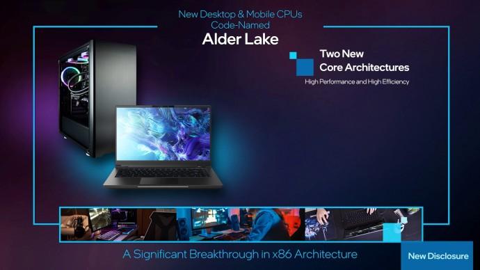 Intel fait le plein d'annonces : Rocket Lake-S, Tiger Lake-H, PCIe 4.0, Alder Lake pour le futur