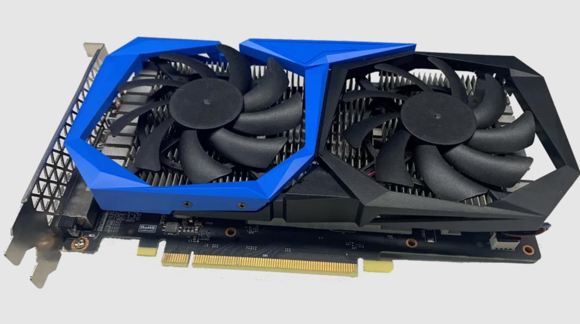 Intel donne le coup d'envoi au lancement de ses GPU Iris Xe pour PC de bureau, mais les réserve aux OEM – Ici le modèle conçu par Colorful