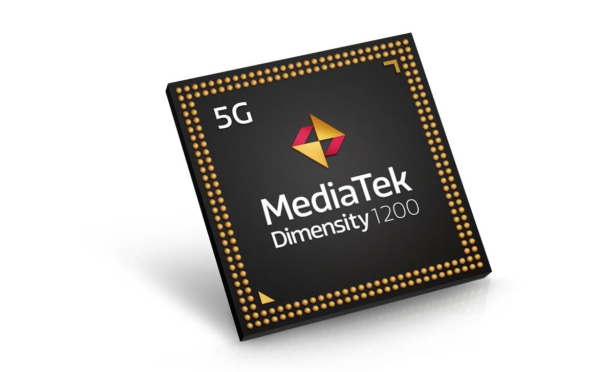 L'actuelle puce MediaTek Dimensity1200, un peu moins avancée et puissante que le Snapdragon888… mais sa remplaçante pourrait changer la donne