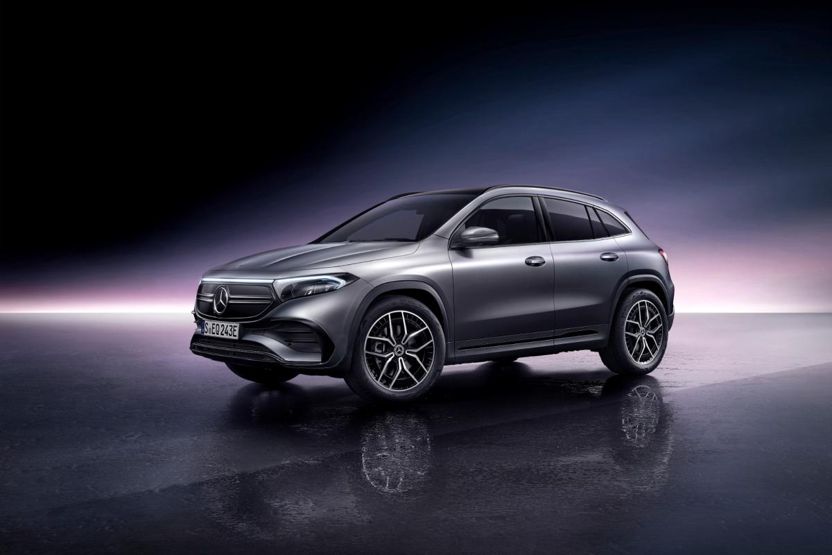 Mercedes EQA SUV électrique