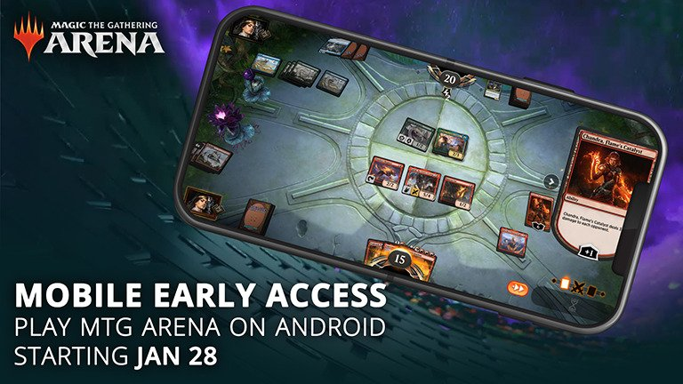 mtgamobile 768 1 - Magic: The Gathering Arena is available on Android in Early Access - Frandroid