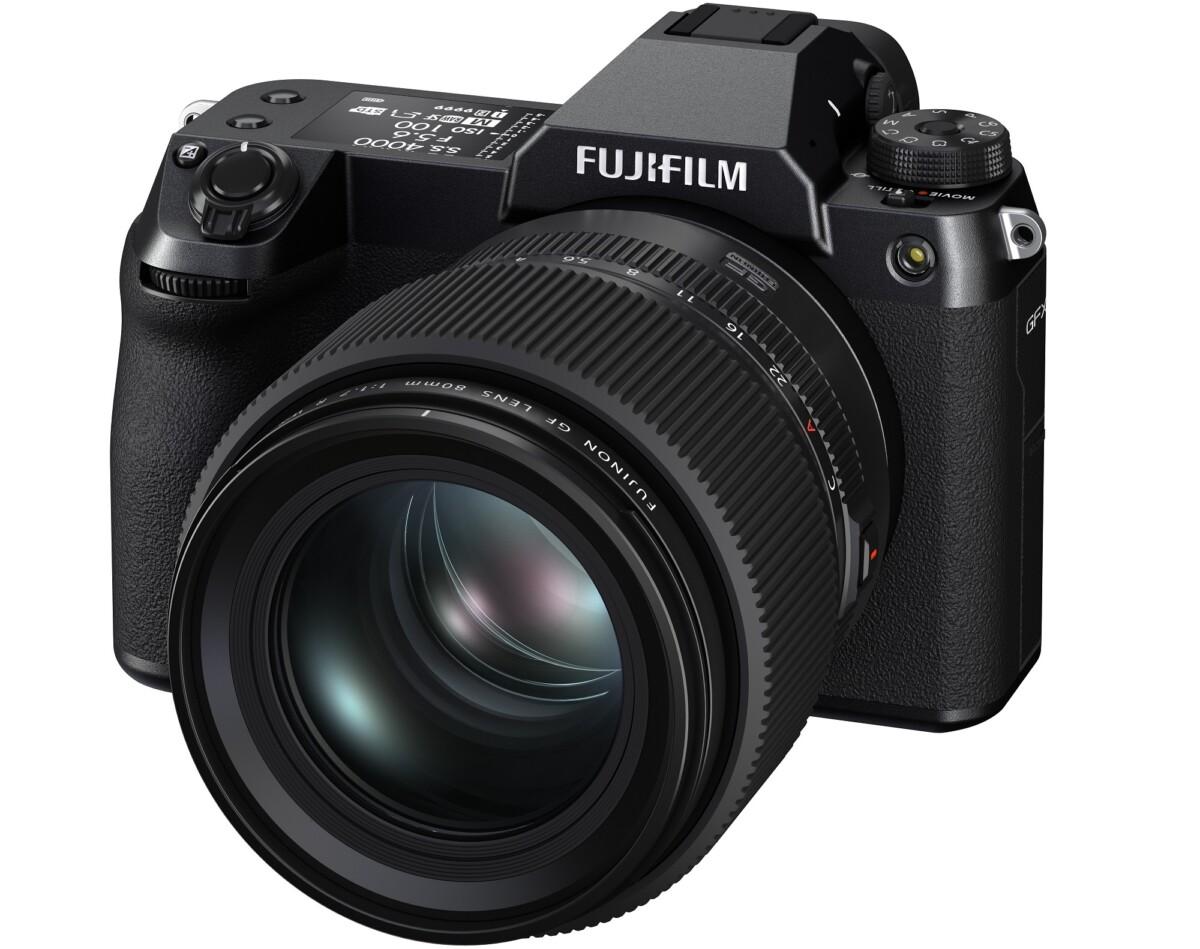 Le Fujifilm GFX 100S