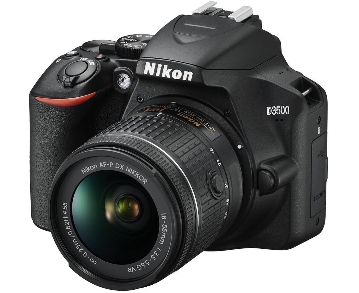 Le Nikon D3500