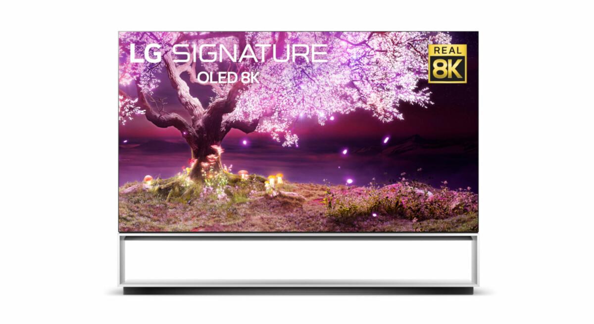 L'OLED 8K Z1 appartient aux produits de la famille «Signature»