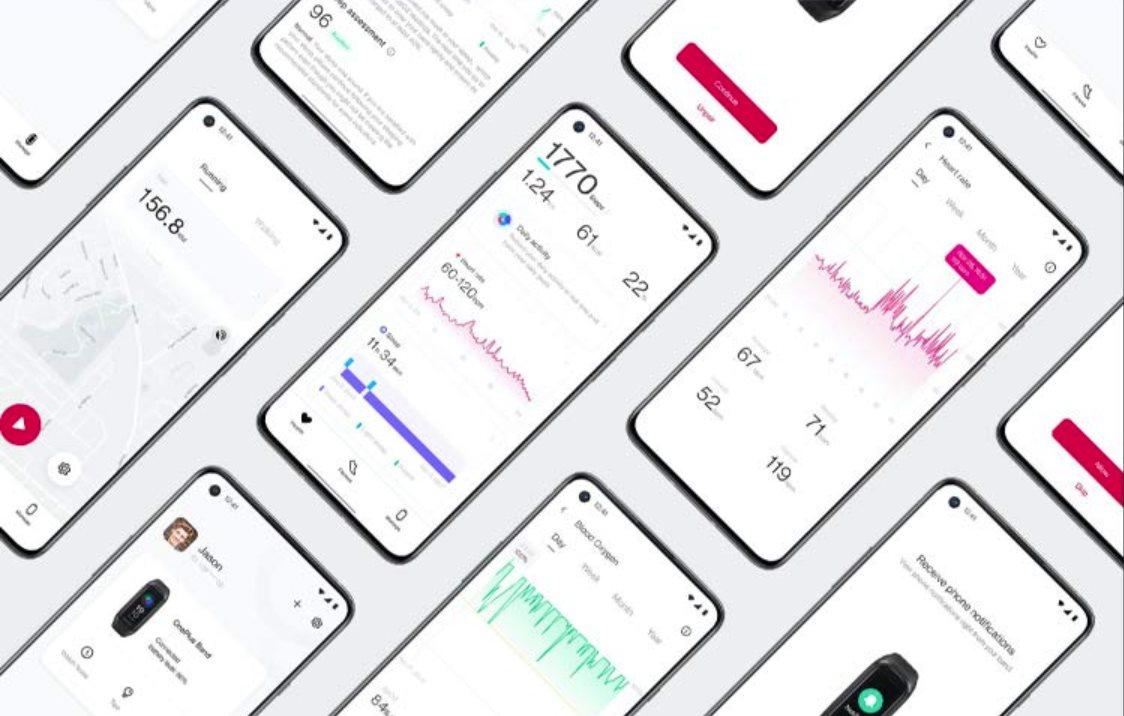 L'application OnePlus Health