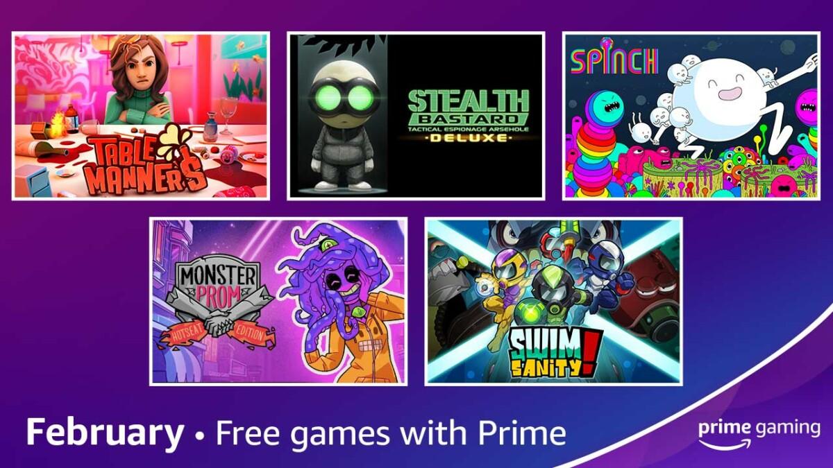 Amazon Prime Gaming : des contenus EA, Fall Guys et des jeux PC offerts en février 2021