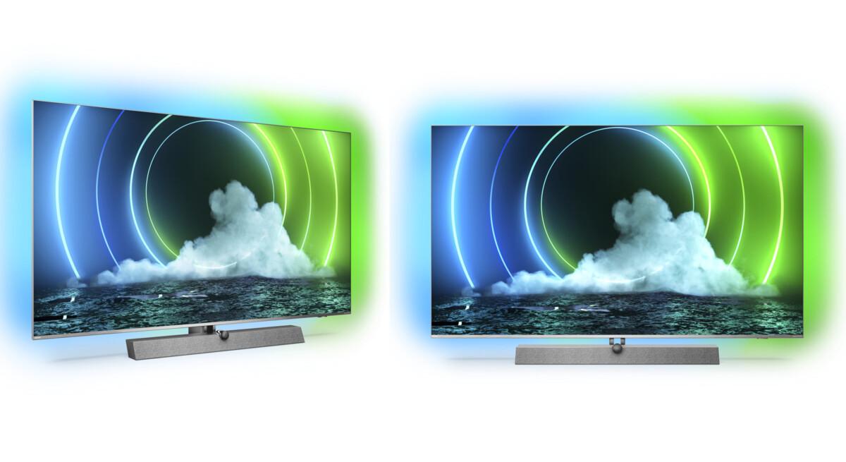Ces téléviseurs Philips Mini LED intègre l'Ambilight 4 côtés