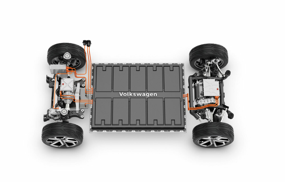 La plateforme MEB du groupe Volkswagen