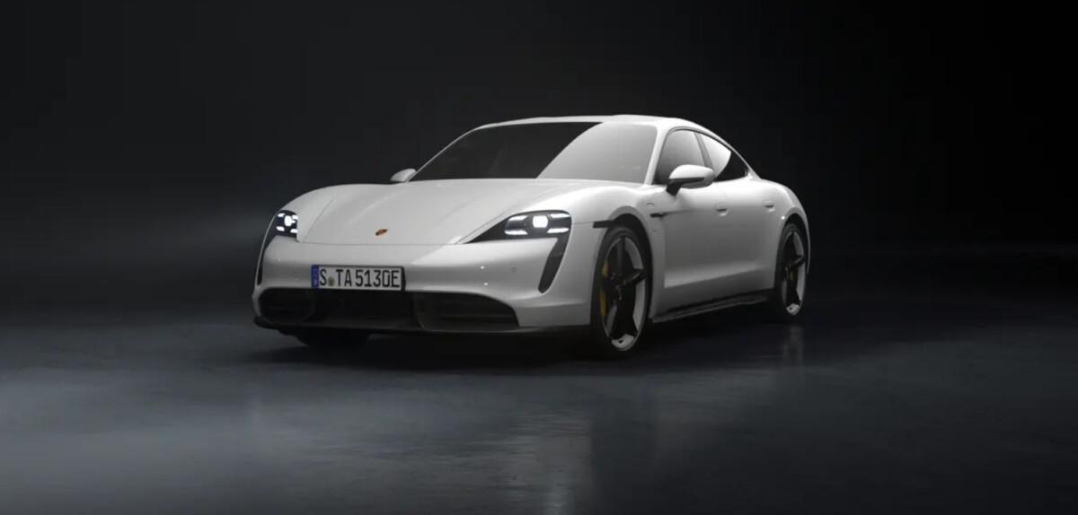 Porsche Taycan voiture électrique