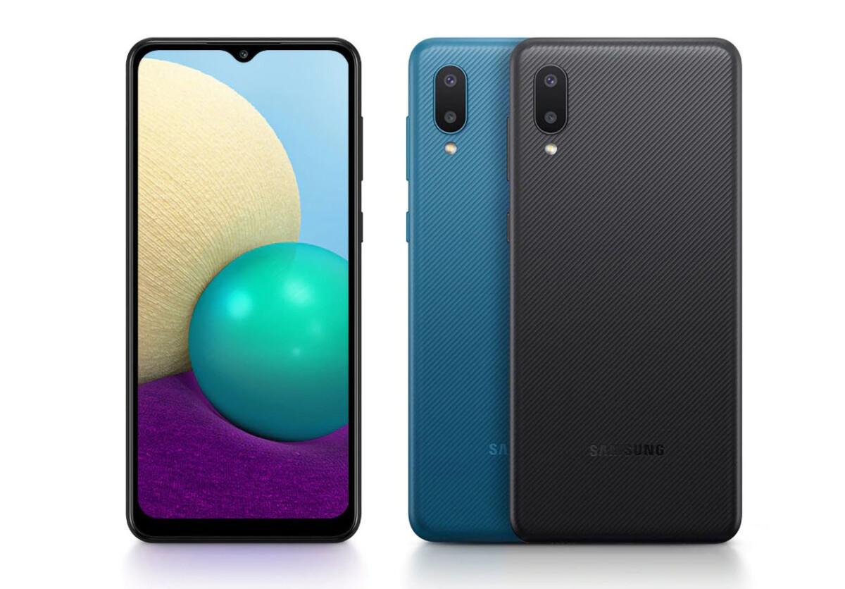 The Samsung Galaxy A02