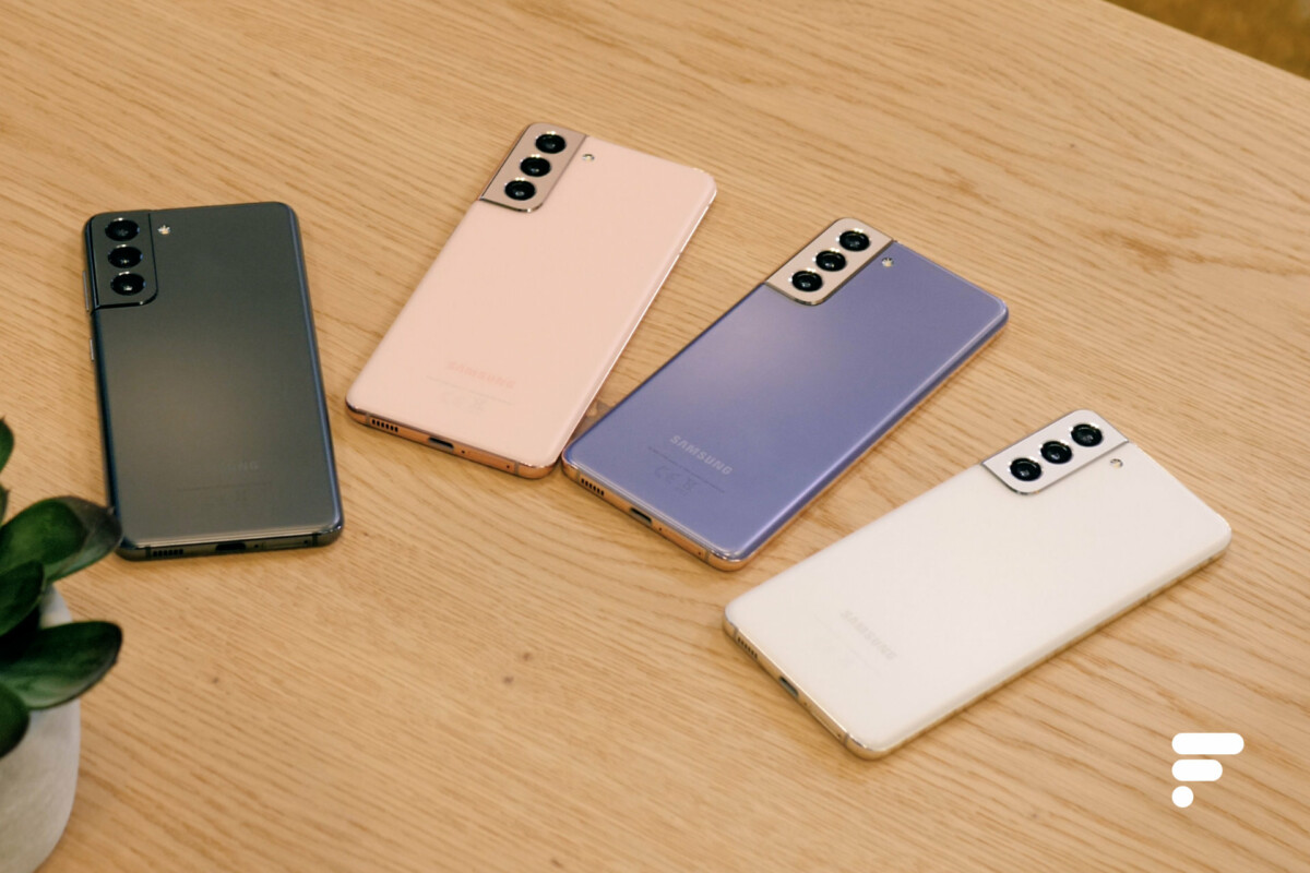Les coloris du Samsung Galaxy S21