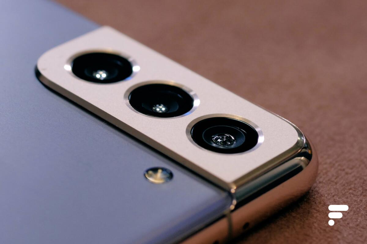 Relief module photo en du Samsung Galaxy S21