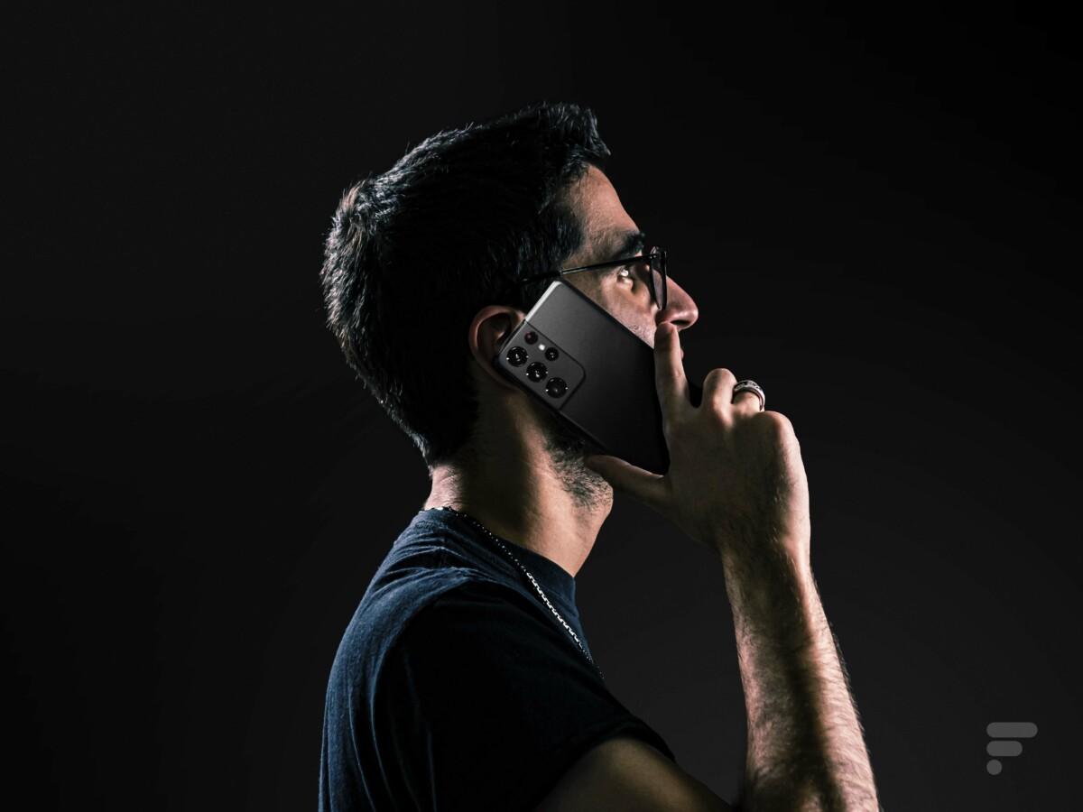 Samsung Galaxy S21 Ultra appel