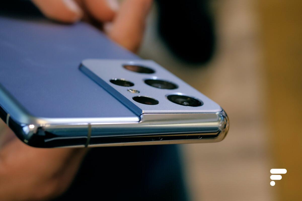 Samsung Galaxy S21 Ultra module protubérant