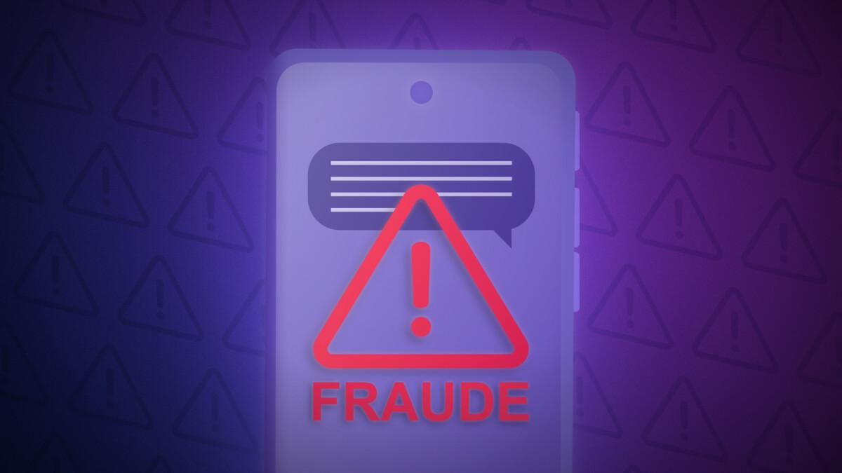 SMS Fraude danger