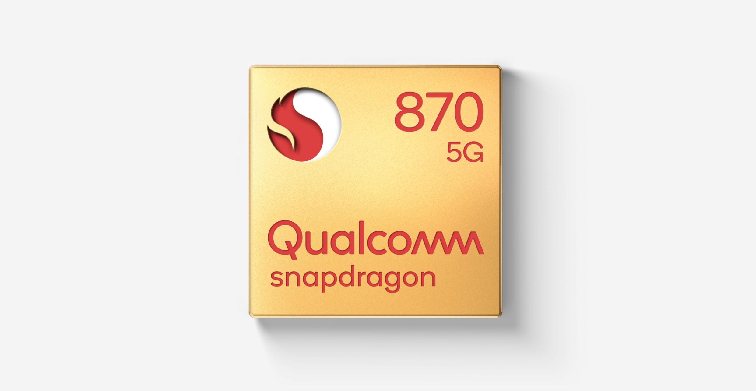 En complément du Snapdragon 888, Qualcomm introduit son Snapdragon 870, une version peaufinée du 865 lancé il y a un peu plus d'un an
