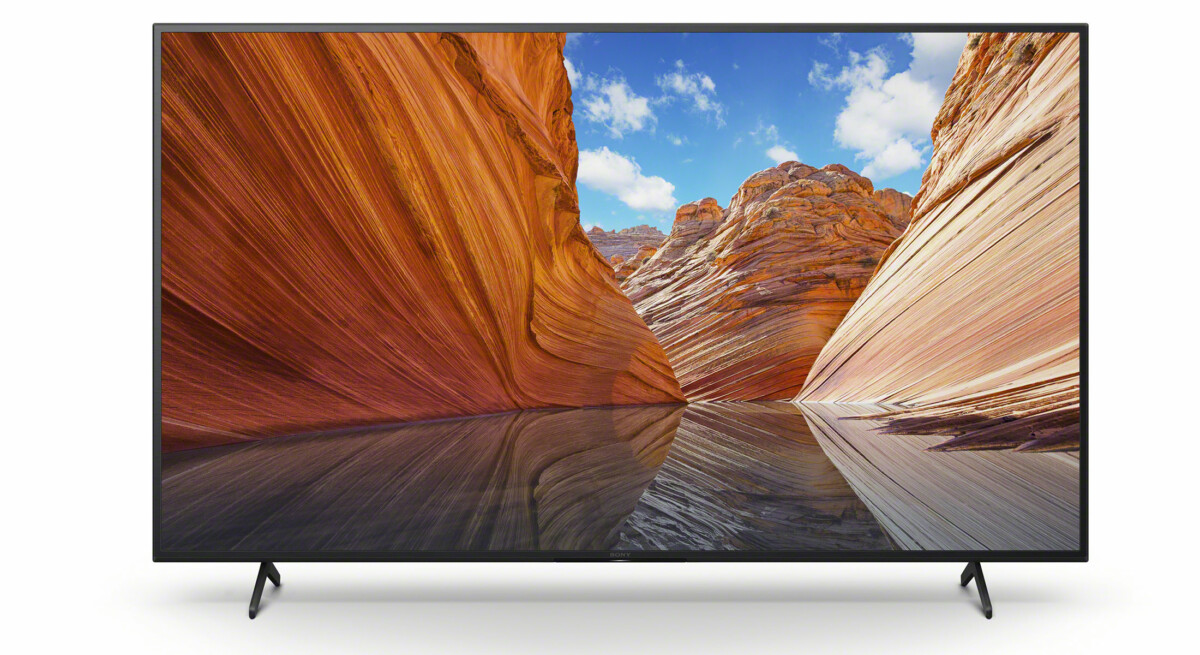 The X80J family represents the most affordable LCD models.