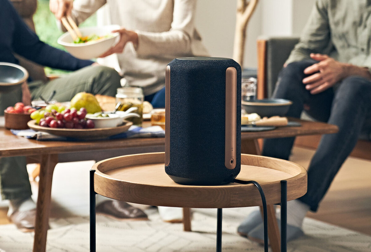 The Sony SRS-RA3000 speaker