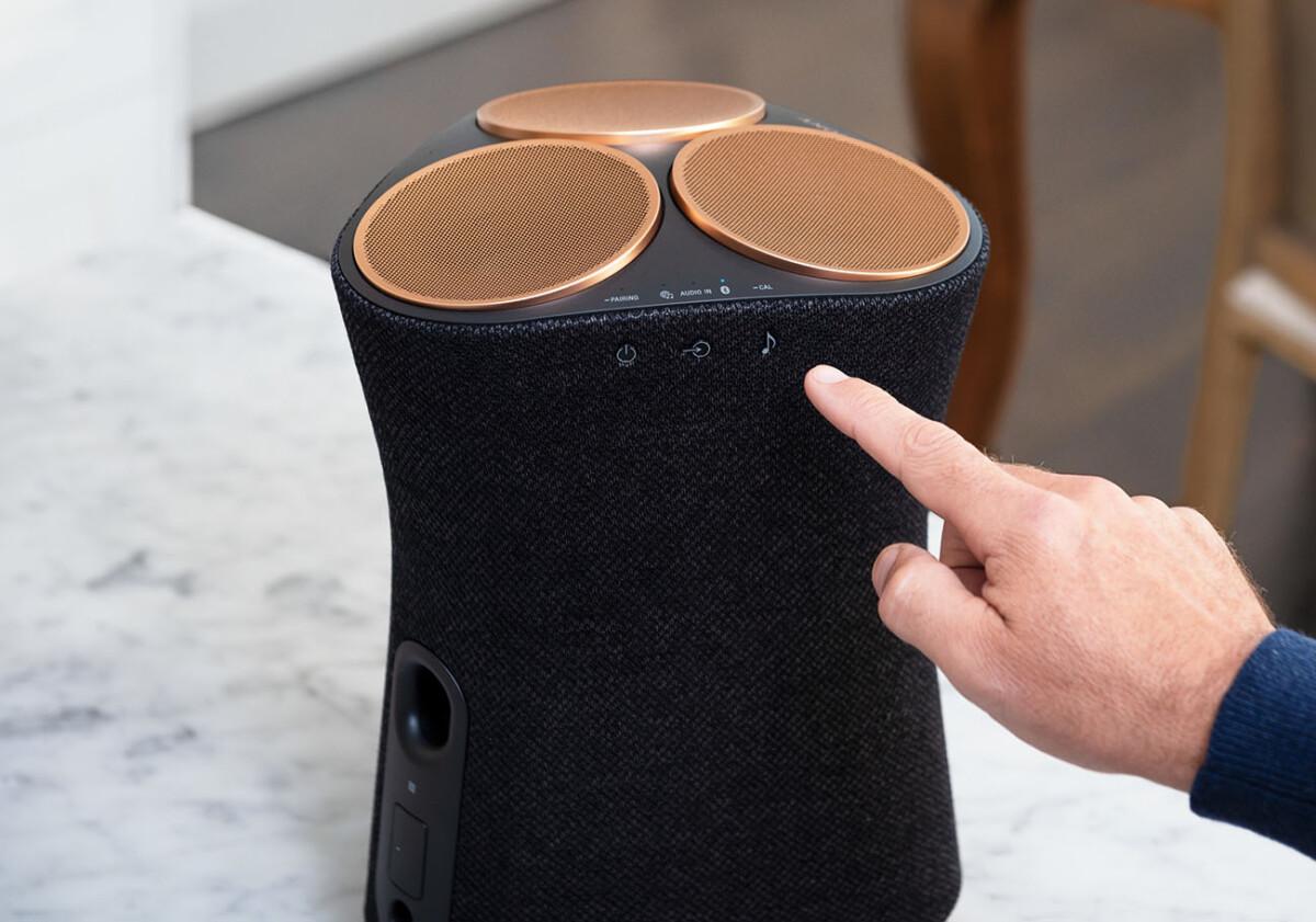 The Sony SRS-RA5000 speaker