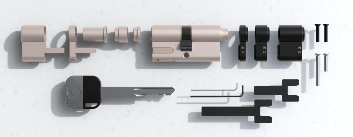 Yale propose un cylindre de remplacement pour la Linus Smart Lock