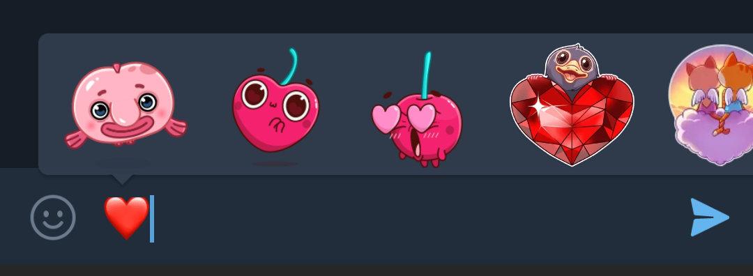 Stickers de Telegram
