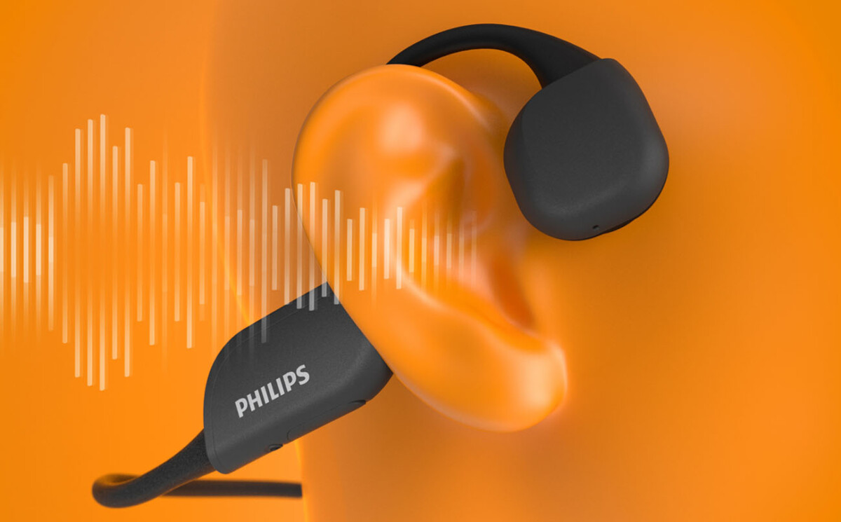 Les écouteurs Philips A6606 à conduction osseuse