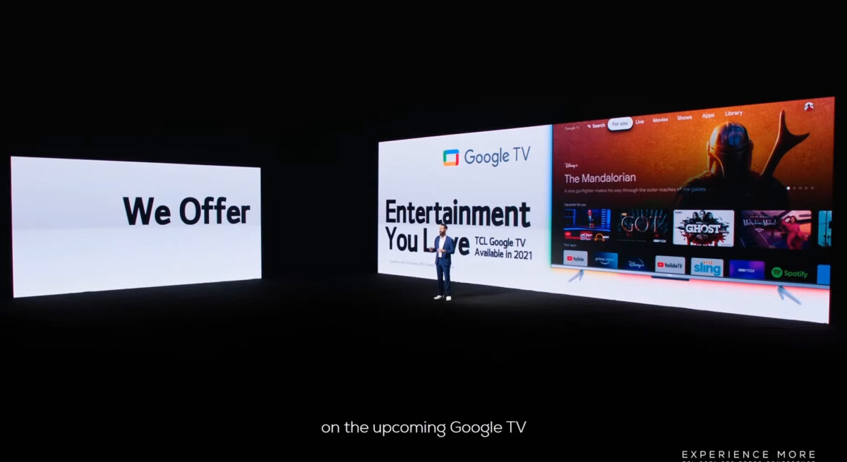 2021 TVs will be compatible with Google TV.