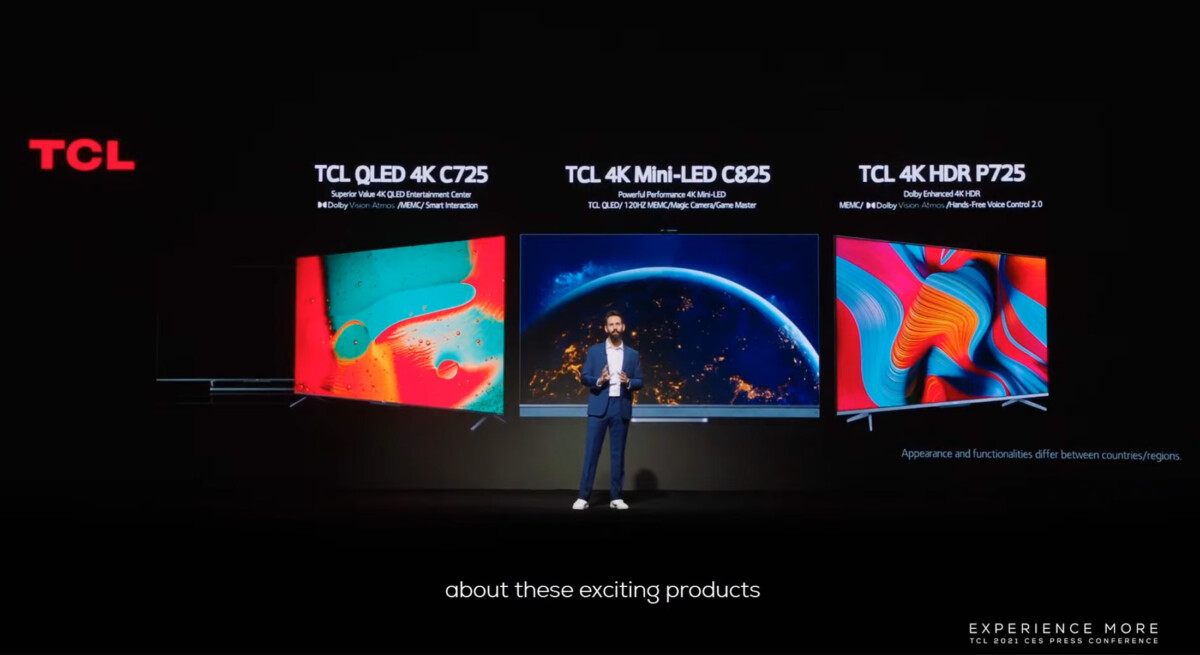 4K mini-LED models will carry the reference C825