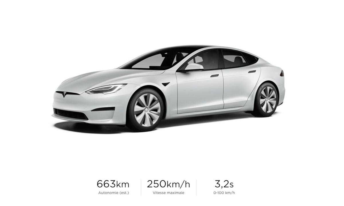 Nouvelle Tesla Model S : intérieur renouvelé, plus rapide et plus grande autonomie