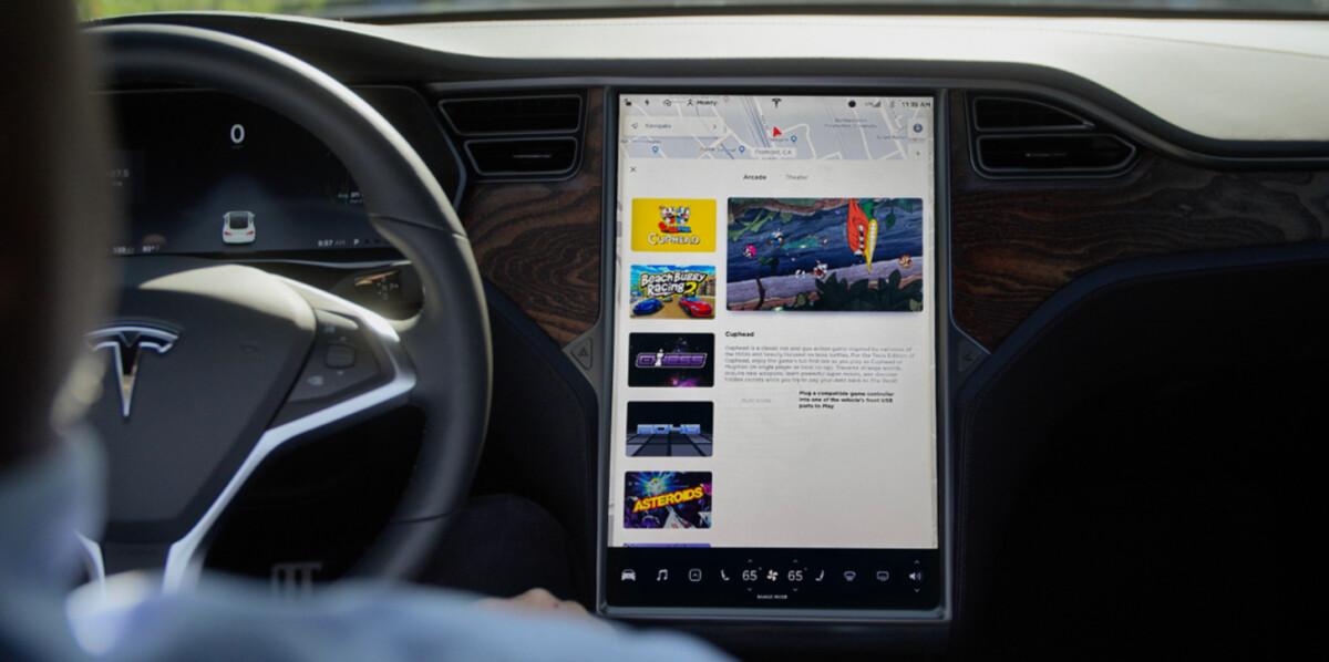 Tesla système infodivertissement