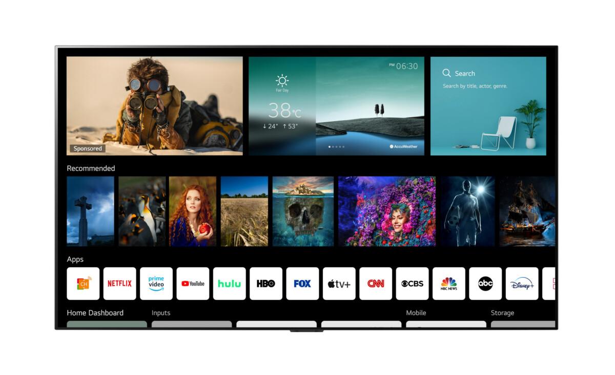 LG Electronics a annoncé WebOS 6.0