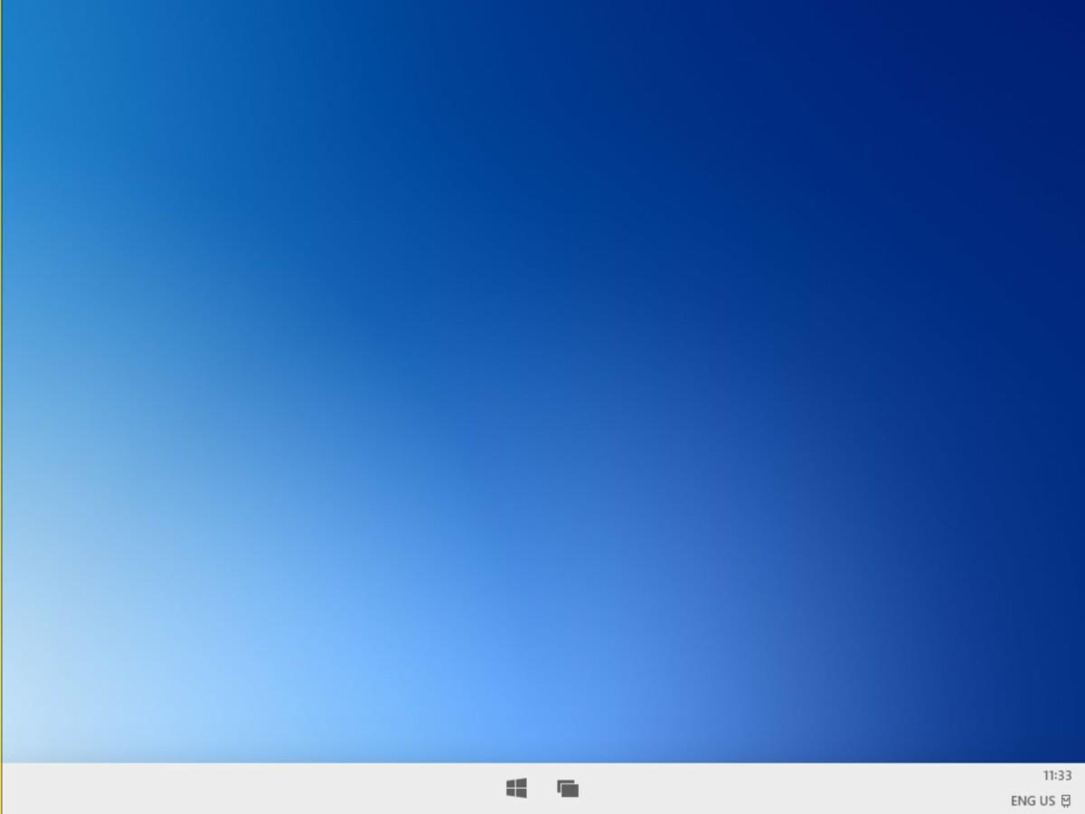 Le bureau de Windows10X