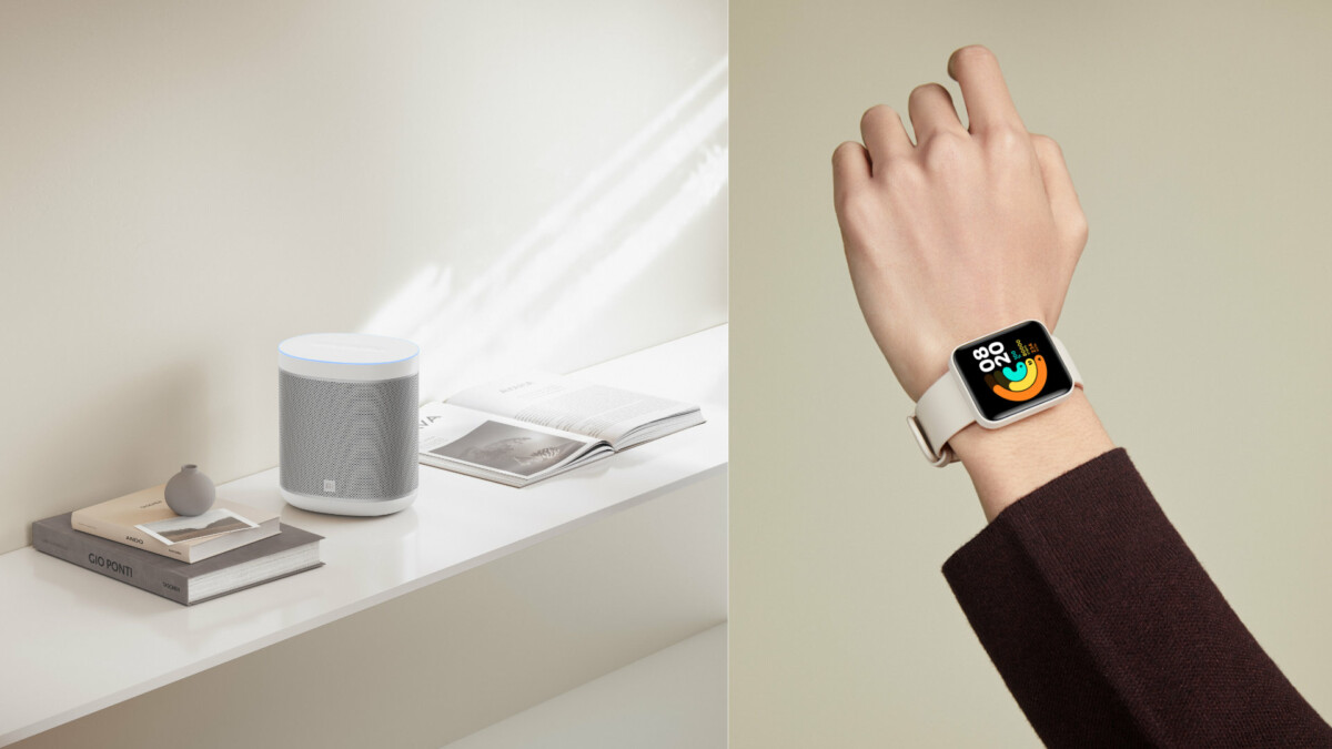 Xiaomi Mi Watch Lite et Xiaomi Mi Smart Speaker