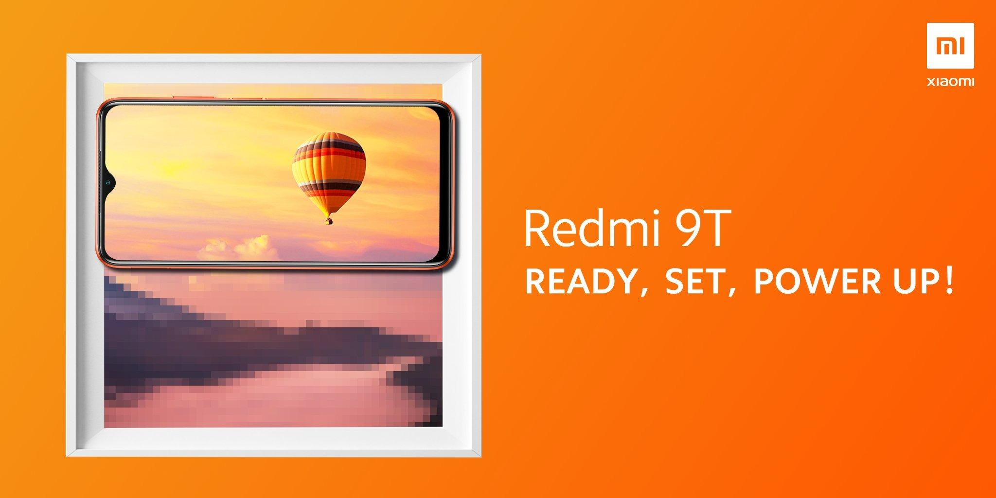 Teasing du Xiaomi Redmi 9T