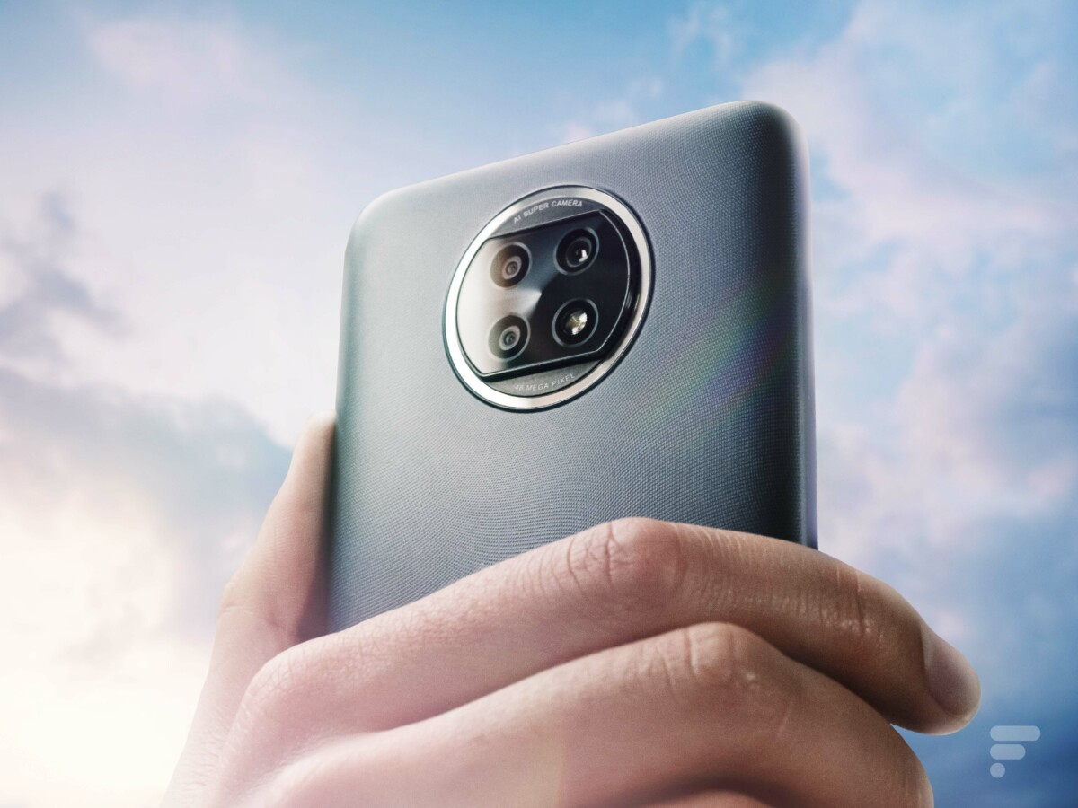 Le dos du Xiaomi Redmi Note 9T