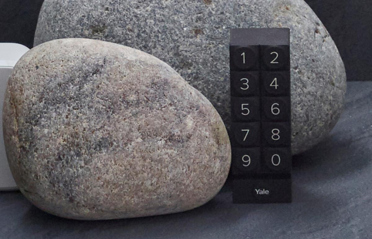 Un clavier à digicode est disponible avec la Linus Smart Lock