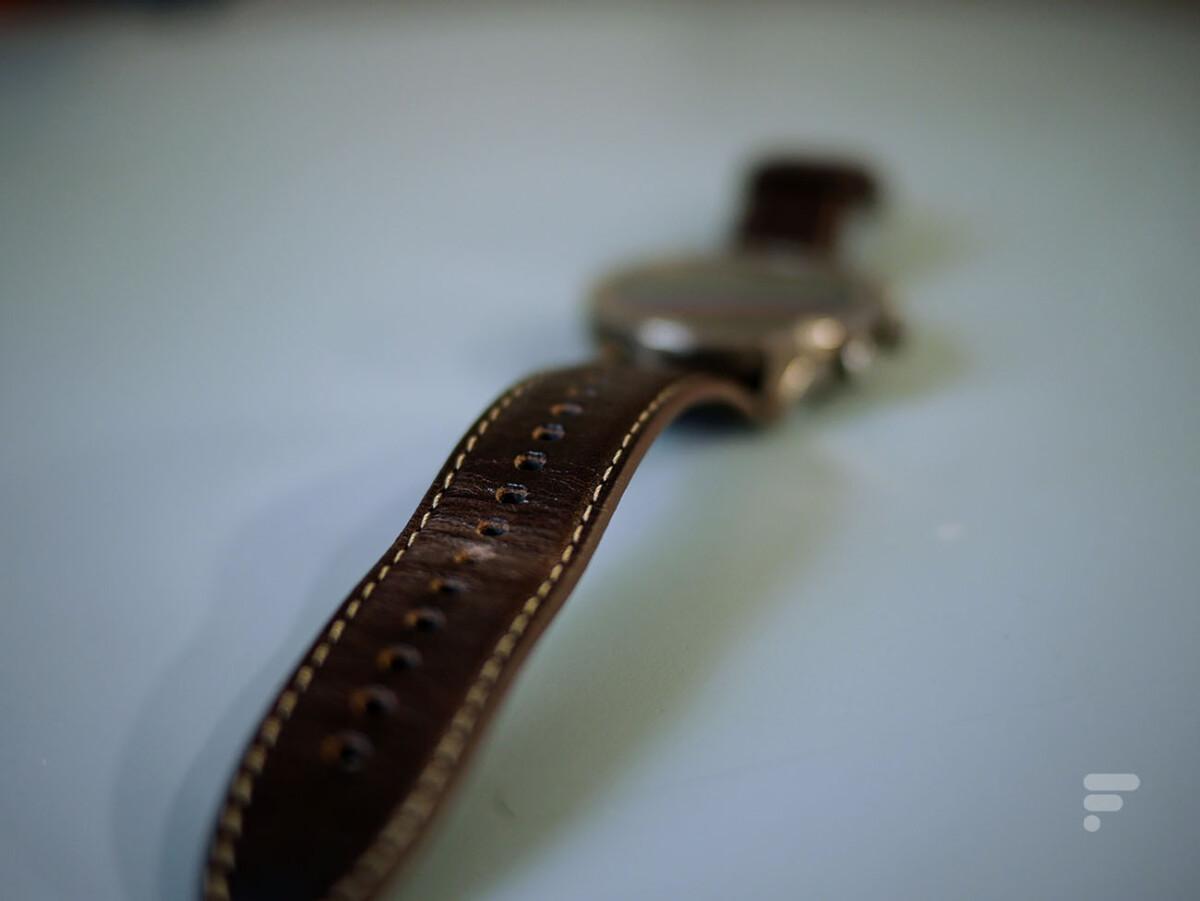Le bracelet en cuir de la Zepp Z