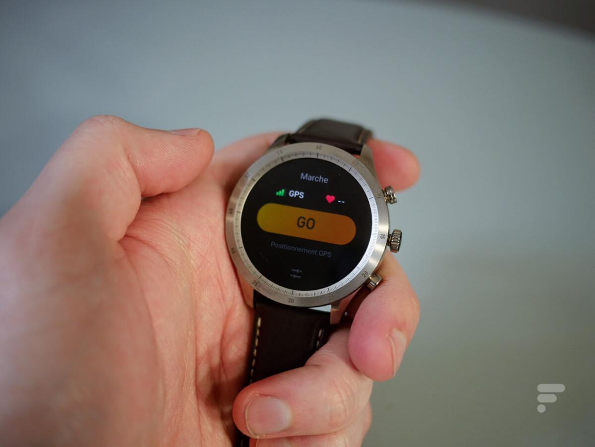 La montre connectée Zepp Z met très longtemps avant de fixer le GPS