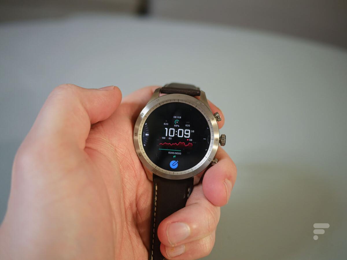 La montre connectée Zepp Z permet de changer de cadran