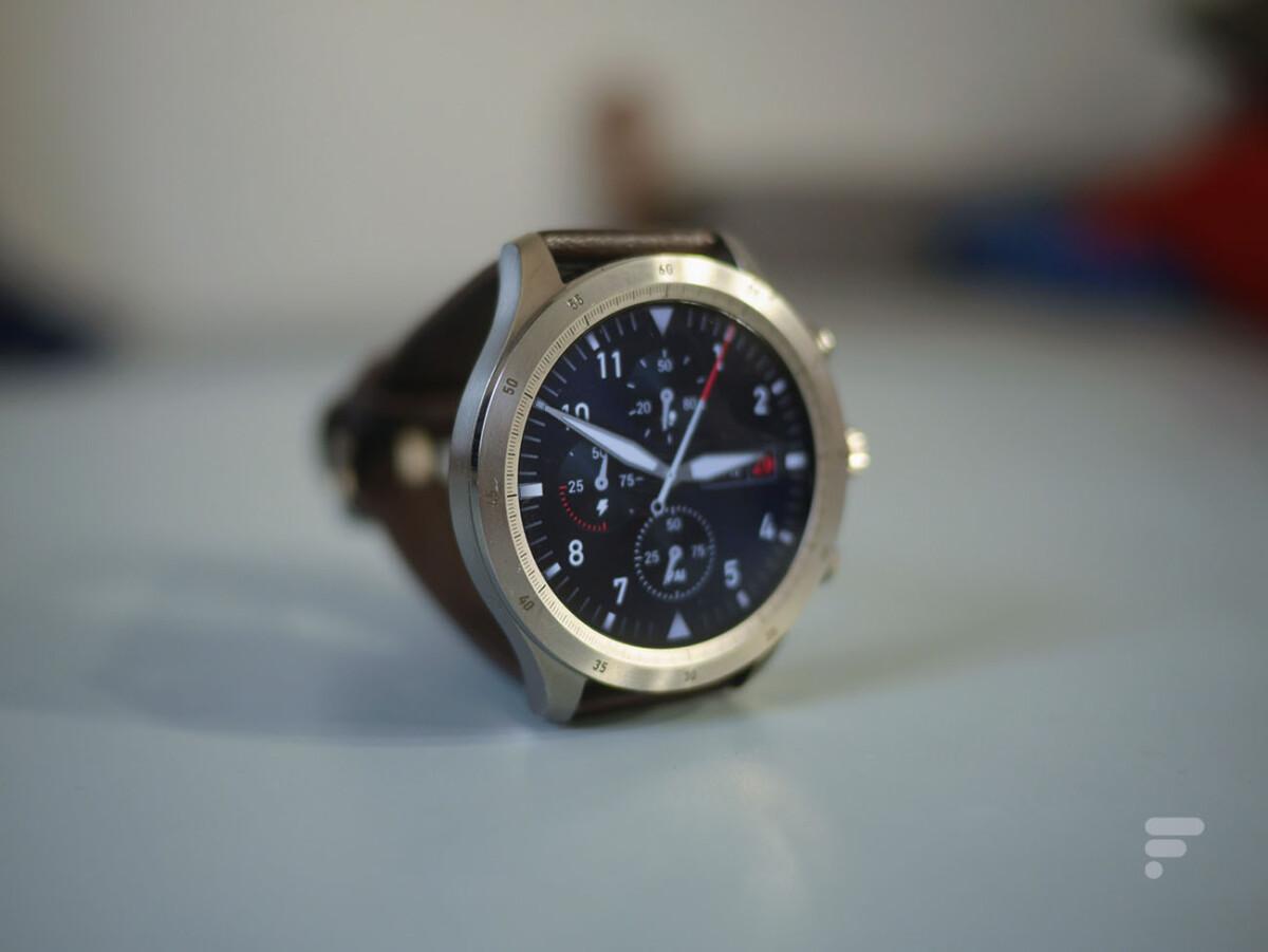 L'écran de la montre connectée Zepp Z