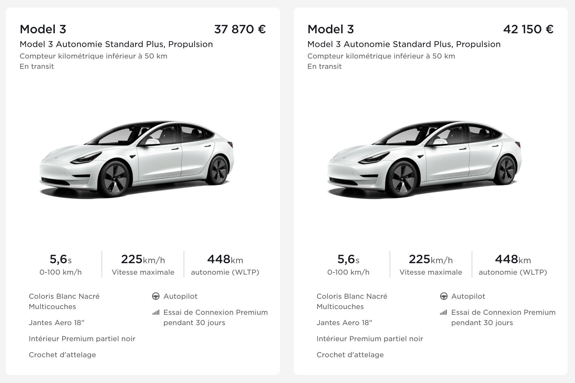 Le prix de la Tesla Model 3 en France est aussi volatil que le Bitcoin - Frandroid