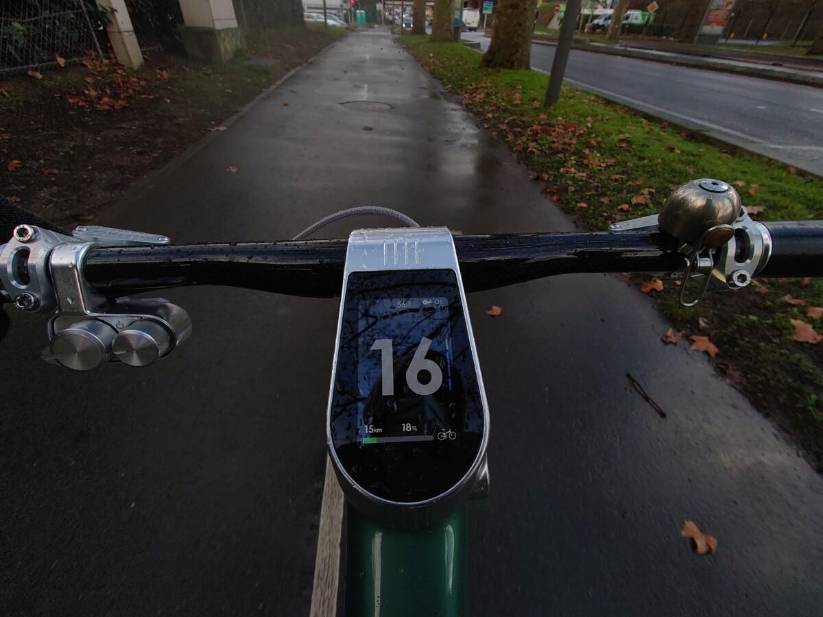 56km parcourus dans le froid, sous la pluie, avec un peu de D+ et encore 15km en assistance presque maximale.