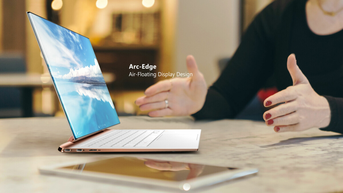 ZeroEdge: a concept from Compal for a borderless ultrabook