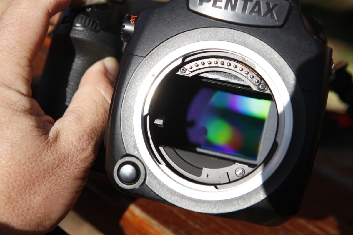 Le capteur photo du Pentax 645Z